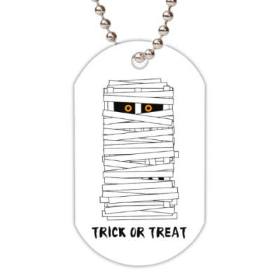 Жетон dog-tag Хэллоуин