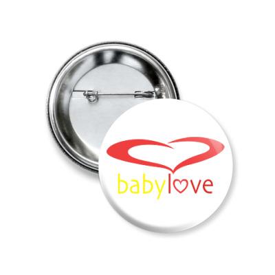 Значок 37мм Baby Love