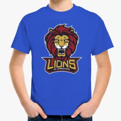 Детская футболка Львы Ланнистеров