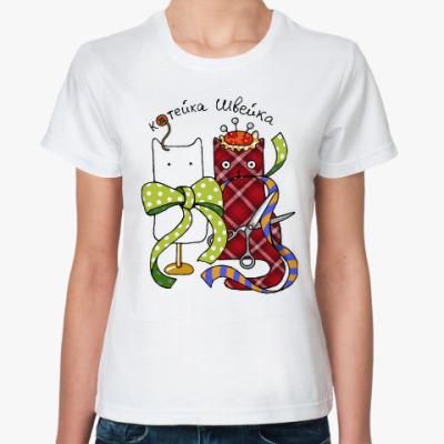 Классическая футболка Швейка из серии 'Profi cats'