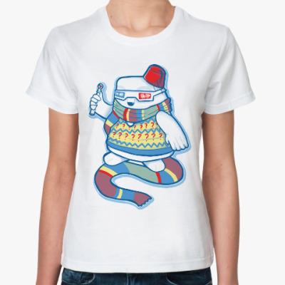 Классическая футболка Доктор Кто