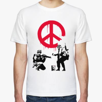Футболка Peace  футболка