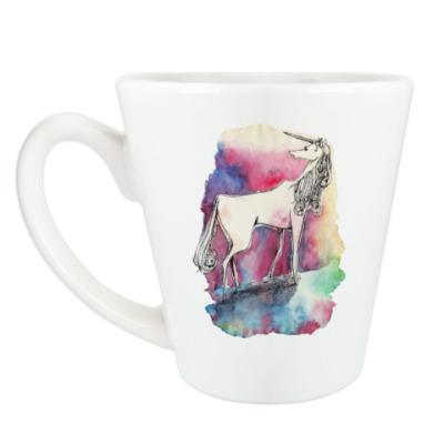 Чашка Латте Последний Единорог (кружка латте (360 мл))