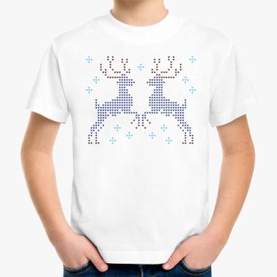 Детская футболка Олени в лесу