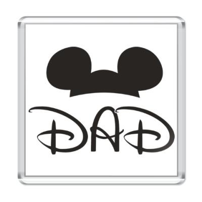 Магнит Dad