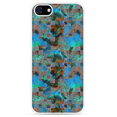 Чехол для iPhone Абстрактный акварельный дизайн