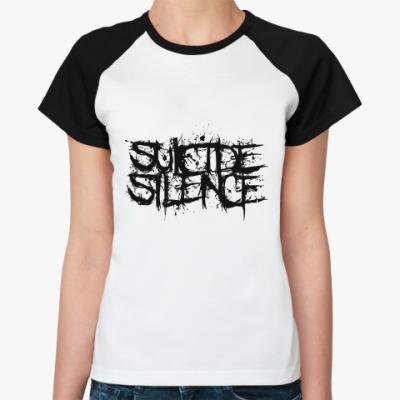 Женская футболка реглан Suicide Silence  Жен
