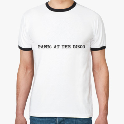 Футболка Ringer-T Panic At The Disco