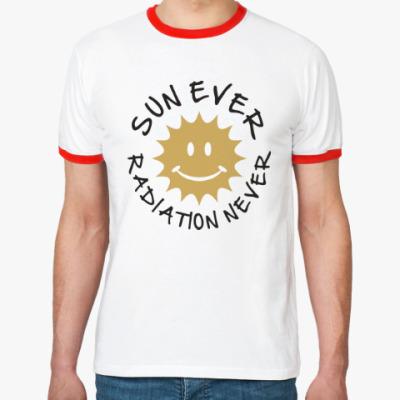 Футболка Ringer-T Солнце всегда