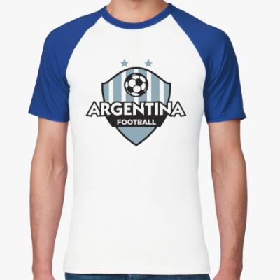 Футболка реглан Футбол Аргентины