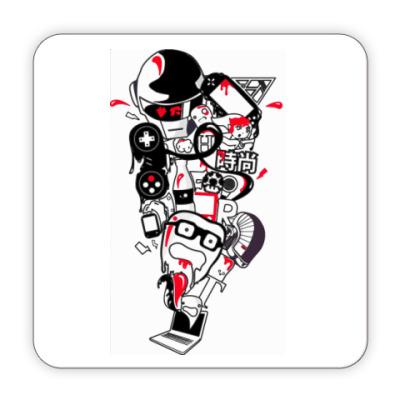 Костер (подставка под кружку) Подставка под кружку Game Worl