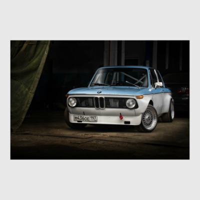 Постер BMW 2002 Turbo