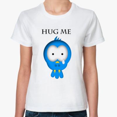 Классическая футболка Hug me