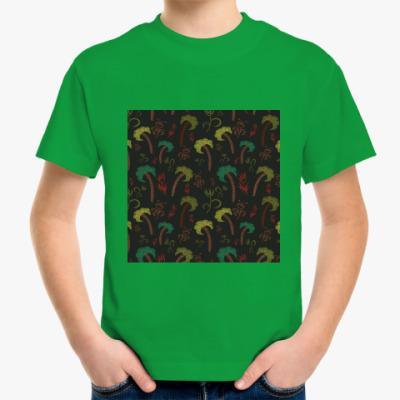 Детская футболка Пальмы