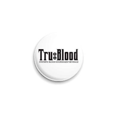 Значок 25мм  'True Blood'