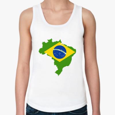 Женская майка Бразилия