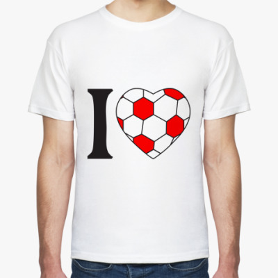 Футболка I Love Football