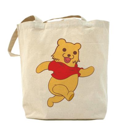 Сумка Холщовая сумка Винни-Пух?