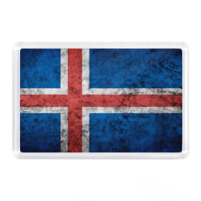 Магнит Исландия, флаг