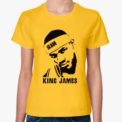 Женская футболка King James