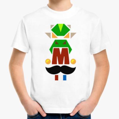 Детская футболка 'Great letters'