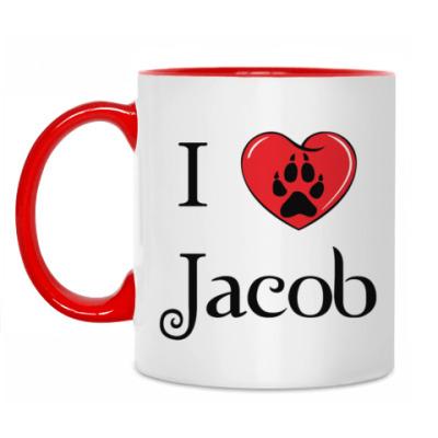 Кружка I love Jacob