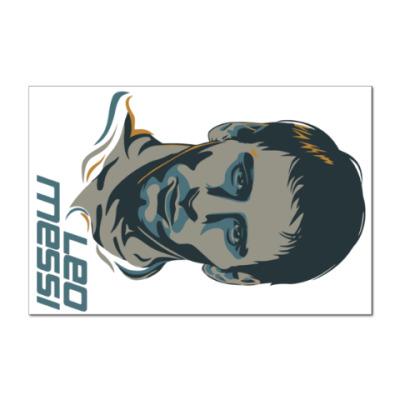 Наклейка (стикер) Leo Messi