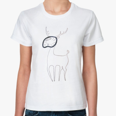 Классическая футболка Маник