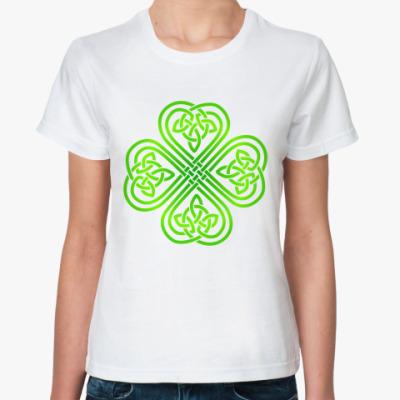 Классическая футболка Кельтский узор
