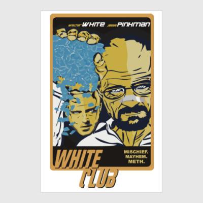 Постер Breaking Bad - Fight Club