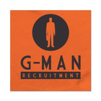 Наклейка (стикер) G-Man