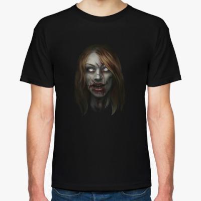 Футболка Зомби-девушка
