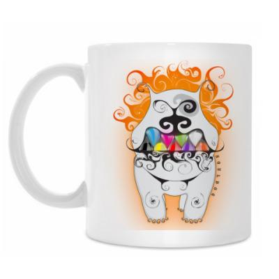 Кружка 'Улыбчивый пёс'