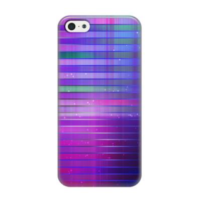 Чехол для iPhone 5/5s Космос в полоску