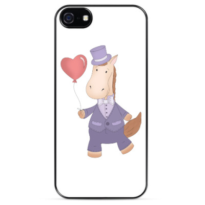"Чехол для iPhone Чехол для iPhone 5 ""Лошадка Джентльмен"""