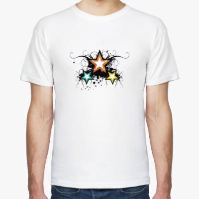 Футболка Три звезды