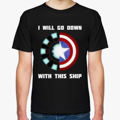 Футболка Captain America/Iron Man