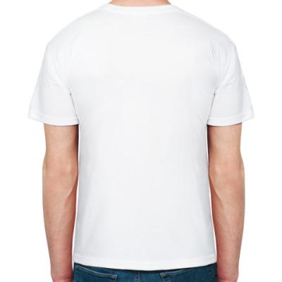 Чеширский Кот Муж футболка бел