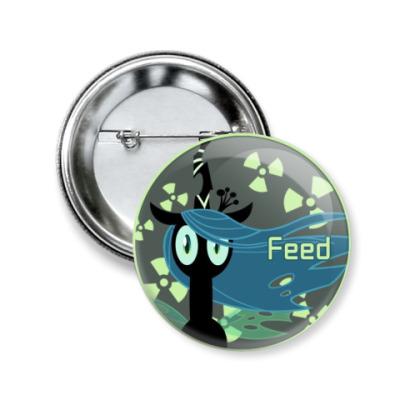 Значок 50мм Pony Feed
