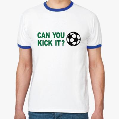 Футболка Ringer-T Хочешь ударить?
