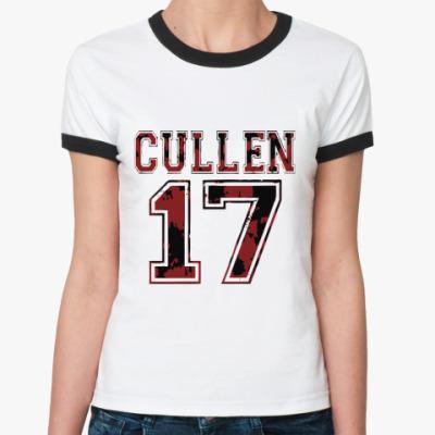 Женская футболка Ringer-T Cullen 17