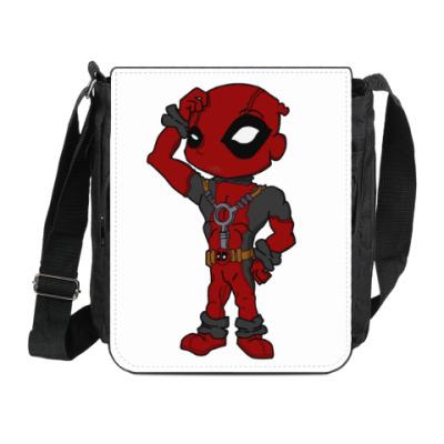 Сумка на плечо (мини-планшет) Deadpool