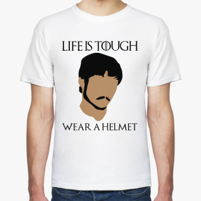 Футболка  Wear a helmet