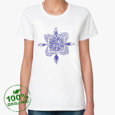 Женская футболка из органик-хлопка Arrows