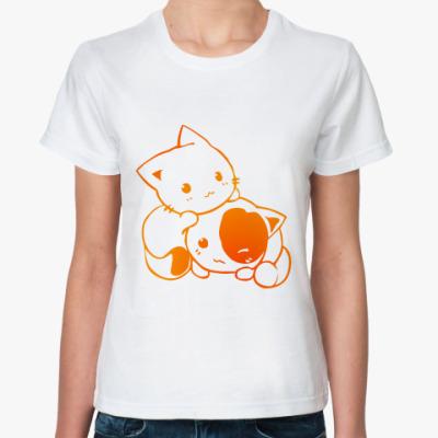 Классическая футболка Котята