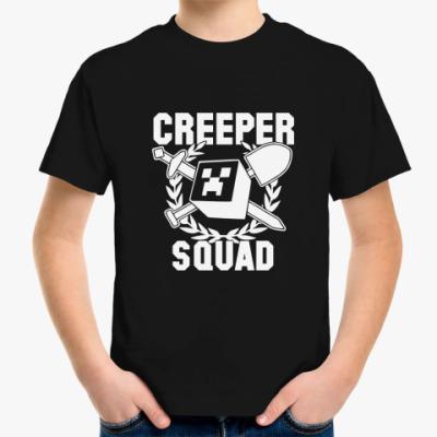 Детская футболка  'Creeper Squad'