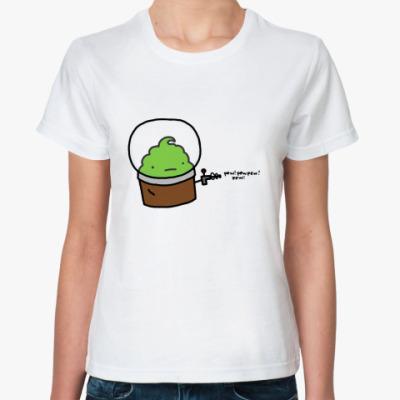 Классическая футболка Alien Muffin