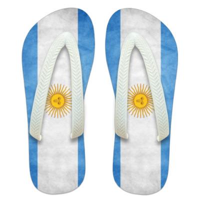 Шлепанцы (сланцы) Аргентина