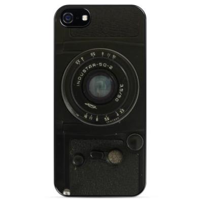 Чехол для iPhone Зенит с объективом Индустар-50