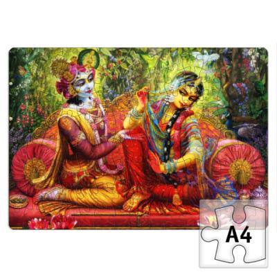 Пазл Krishna and Radha